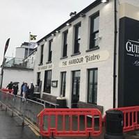 街外れの港にあった「The Harbour Bar」へ 2019年 全英オープン 最終日  ポートラッシュ