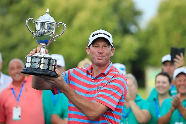 41歳のジム・ハーマンがツアー2勝目を飾った(Photo by Andy Lyons/Getty Images)