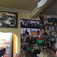 マキロイの若い頃の写真もあった 2019年 全英オープン 最終日 ポートラッシュ