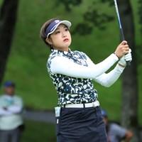 20歳の高木優奈が単独首位発進した(※日本女子プロゴルフ協会提供) 2019年 ANA PRINCESS CUP 初日 高木優奈