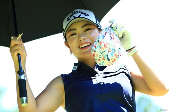 2019年 センチュリー21レディスゴルフトーナメント 初日 河本結 最高の笑顔じゃん