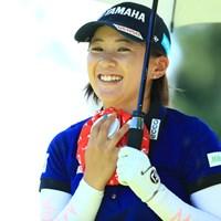 みんな氷のう持ってるね 2019年 センチュリー21レディスゴルフトーナメント 初日 永井花奈