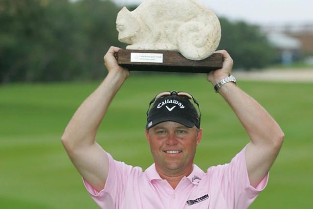最終日に逆転優勝を飾ったキャメロン・ベックマン(Michael Cohen/Getty Images)