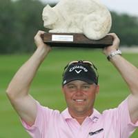 最終日に逆転優勝を飾ったキャメロン・ベックマン(Michael Cohen/Getty Images) 2010年 マヤコバゴルフクラシック 最終日 キャメロン・ベックマン