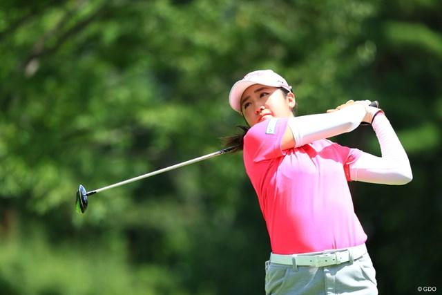 2019年 センチュリー21レディスゴルフトーナメント  2日目 稲見萌寧 2打差の首位に立った稲見萌寧