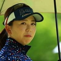 にらめっこ 2019年 センチュリー21レディスゴルフトーナメント 2日目 吉田弓美子
