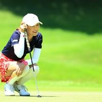 笑顔多し 2019年 センチュリー21レディスゴルフトーナメント 2日目 金田久美子