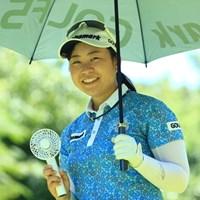 その扇風機は涼しいのかい 2019年 センチュリー21レディスゴルフトーナメント 2日目 武尾咲希