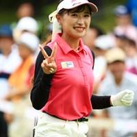 頑張ってね~ 2019年 センチュリー21レディスゴルフトーナメント 最終日 臼井麗香