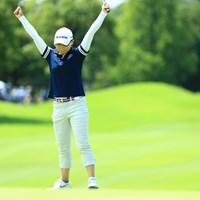 2位タイフィニッシュ、万歳は9番パーセーブで 2019年 センチュリー21レディスゴルフトーナメント 最終日 イ・ナリ