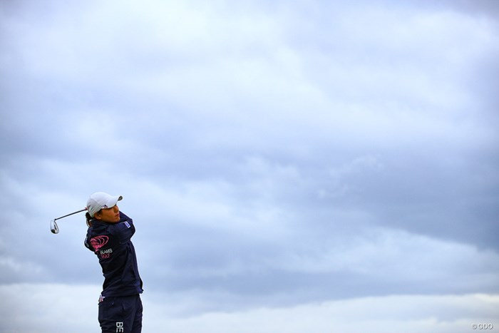 最終日に好感触を残した横峯さくら 2019年 エビアン選手権 最終日 横峯さくら