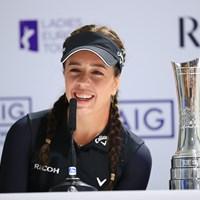 前年度覇者 2019年 AIG全英女子オープン 事前 ジョージア・ホール