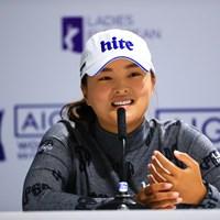 前週メジャー覇者 2019年 AIG全英女子オープン 事前 コ・ジンヨン