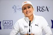 2019年 AIG全英女子オープン 事前 レキシー・トンプソン