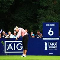 試合が終わった頃には芝がハゲきっとるな 2019年 AIG全英女子オープン 初日 レキシー・トンプソン