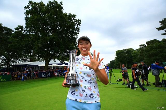 快挙を達成した渋野日向子。日本のゴルフ史を変えた