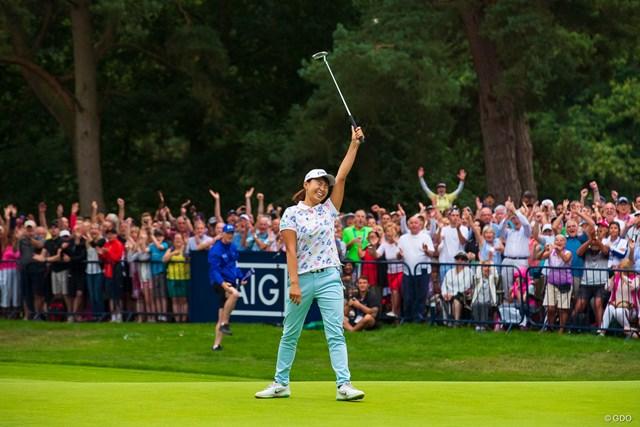 海を渡った米国でも多くのゴルフファンが熱戦を見守った