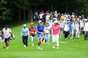 2019年 北海道meijiカップ 最終日 渋野日向子 稲見萌寧