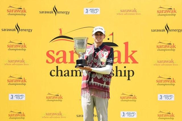 昨年大会はジョン・キャトリンが制し初代優勝者に輝いた ※アジアンツアー提供