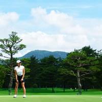 パット練習も欠かさず 2019年 NEC軽井沢72ゴルフトーナメント 事前 渋野日向子