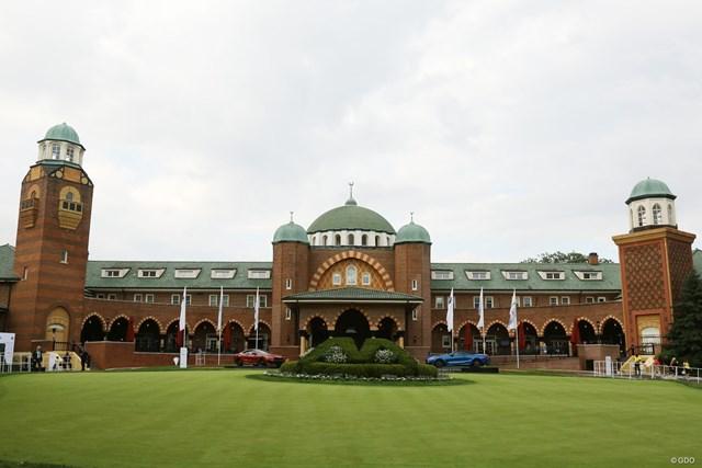 2019年 BMW選手権 事前 メダイナCCのクラブハウス 東ローマ帝国や東洋の建築様式が取り入れられているメダイナCCのクラブハウス