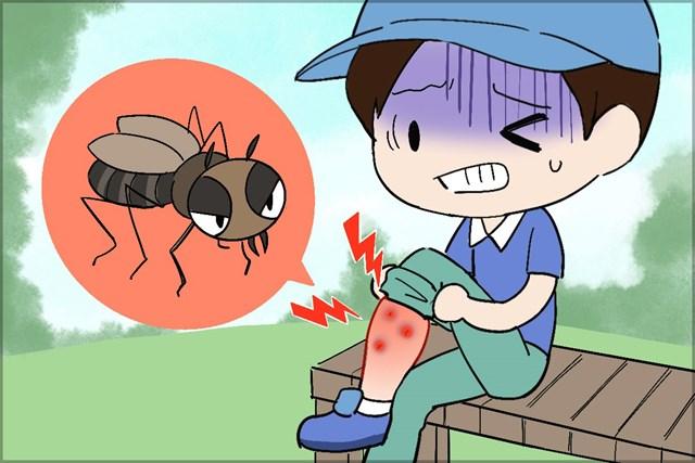 知らぬ間に近寄ってくるブヨ。刺されると蚊よりもかゆくて痛い…