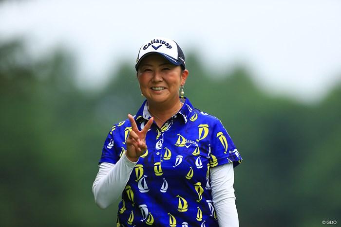 大御所からピースいただきました!! 2019年 NEC軽井沢72ゴルフトーナメント 初日 佐伯三貴
