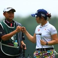 どこだったかなー?バーディーっすよ 2019年 NEC軽井沢72ゴルフトーナメント 初日 比嘉真美子