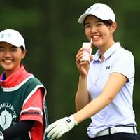 この二人何だろう。合格!! 2019年 NEC軽井沢72ゴルフトーナメント 初日 大田紗羅