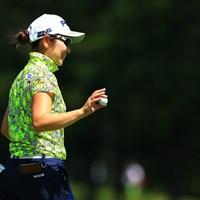 比嘉真美子が大会2勝目に挑む 2019年 NEC軽井沢72ゴルフトーナメント 2日目 比嘉真美子