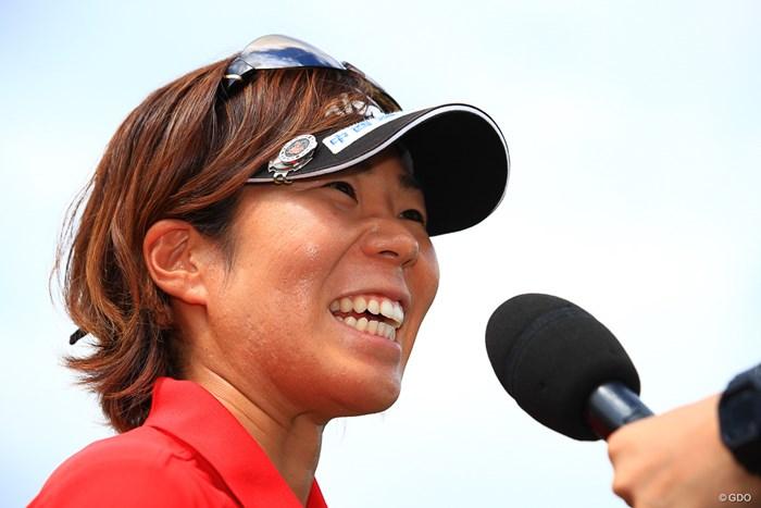 穴井詩がツアー通算3勝目を挙げた 2019年 NEC軽井沢72ゴルフトーナメント 最終日 穴井詩