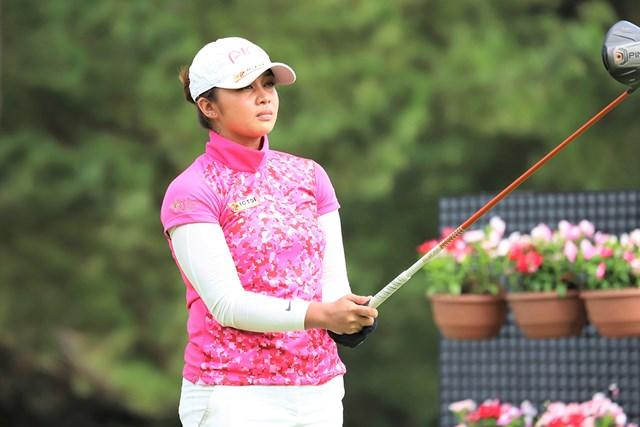 首位タイで初日を終えたプリンセス・スペラル(※日本女子プロゴルフ協会提供)
