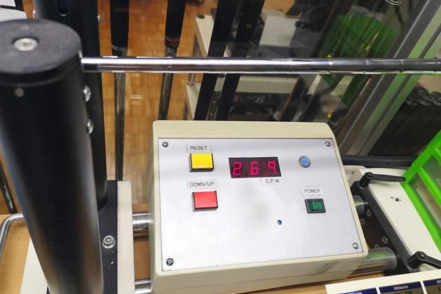 純正シャフト、超軽量の「NSプロ ZEROS 7」の振動数は7番で269cpm