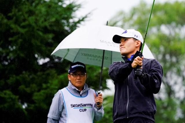 2019年 長嶋茂雄招待セガサミーカップ 2日目 丸山奨王 父・丸山茂樹と初タッグだった丸山奨王。