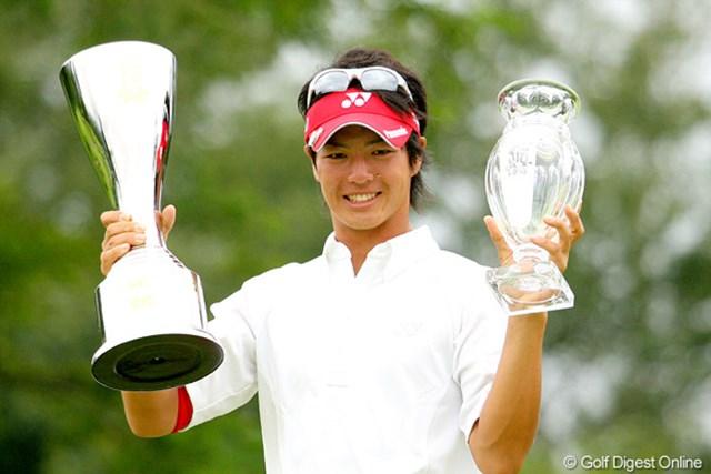 石川遼の完全優勝は3度目(写真は2009年サン・クロレラクラシック)