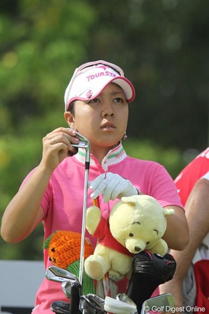 2010年 HSBC女子チャンピオンズ初日 宮里美香 3連続バーディは復調の兆し!?初日1オーバーの宮里美香