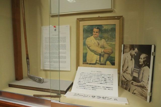 JGAゴルフミュージアム ジーン・サラゼンのクラブ 伝説のグランドスラマー、ジーン・サラゼンのクラブ