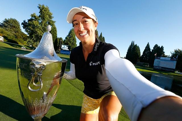 前年大会でツアー初優勝を挙げたマリナ・アレックス(Jonathan Ferrey/Getty Images)