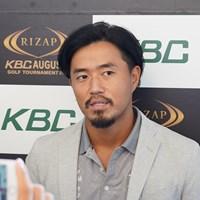 5月以来の国内ツアーとなる小平智 2019年 RIZAP KBCオーガスタゴルフトーナメント 事前 小平智