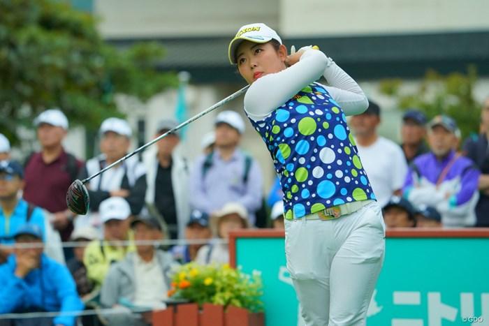 前週のチャンピオンはイーブンパースタート。 2019年 ニトリレディスゴルフトーナメント 初日 浅井咲希