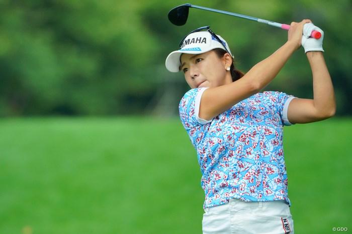 優勝が狙える初日の好スタート。 2019年 ニトリレディスゴルフトーナメント 初日 有村智恵