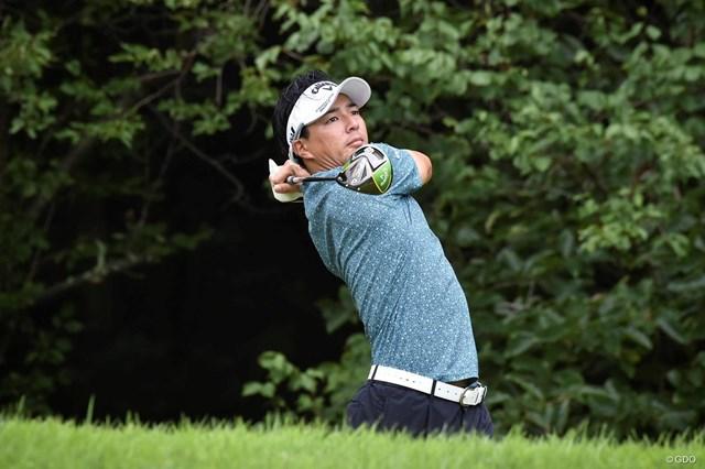 3戦連続優勝のかかる石川遼は首位と3打差の11位で発進した