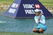 2010年 HSBC女子チャンピオンズ2日目 有村智恵