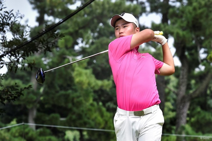 予選通過を確実にした長野泰雅 2019年 RIZAP KBCオーガスタゴルフトーナメント 2日目 長野泰雅