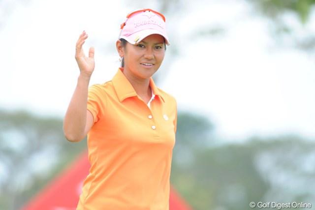 2010年 HSBC女子チャンピオンズ 宮里藍 2週連続優勝なるか!? 首位タイで最終日に臨む宮里藍
