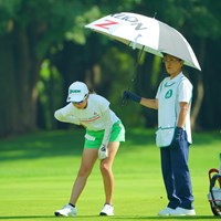 腰の痛みは大丈夫でしょうか?心配です。 2019年 ニトリレディスゴルフトーナメント 3日目 安田祐香