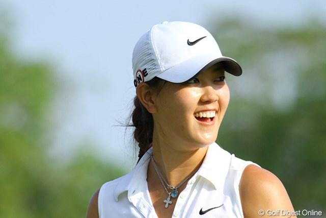 2010年 HSBC女子チャンピオンズ3日目 ミッシェル・ウィ 毎日、大勢のギャラリーを引き連れる人気者のミッシェル・ウィ