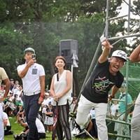 HKTにノリノリな小平智プロのマネージャー 2019年 RIZAP KBCオーガスタゴルフトーナメント 3日目 小平智