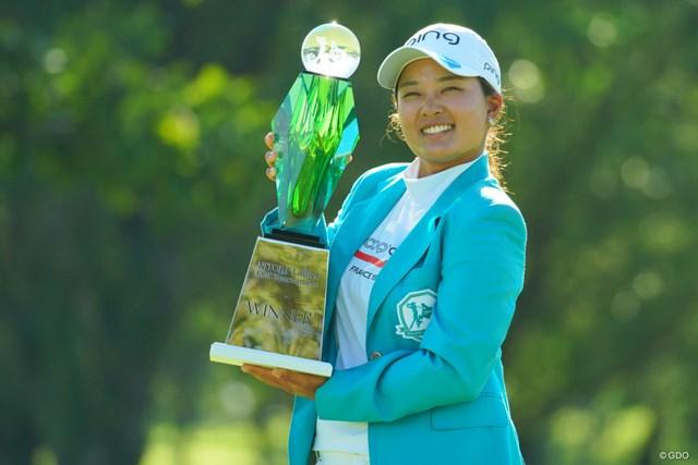 2019年 ニトリレディスゴルフトーナメント 最終日 鈴木愛 鈴木愛が今季4勝目を手にした