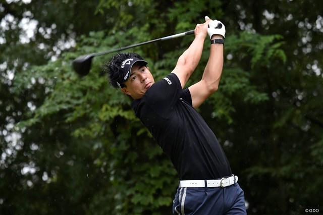 2019年 RIZAP KBCオーガスタゴルフトーナメント 最終日 石川遼 石川遼は最終18番で痛恨のボギー